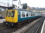108 unit at Llangollen with the 13.05 to Carrog