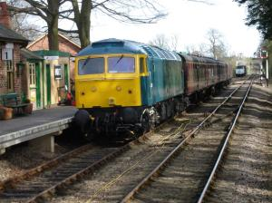 47367 at Holt on Sunday 10th April - photo Alistair Barham