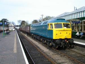 47367 at Sheringham on Sunday 10th April - photo Alistair Barham
