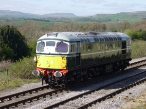 D5310 runs round at Redmire on Sunday 17th April - photo Matt Stoddon