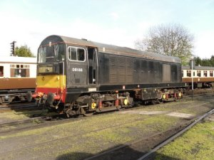 8188 at rest during shunting at Bridgnorth on Saturday 9th April - photo David Coombs